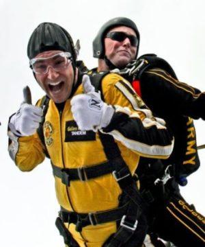 Baptème saut en parachute
