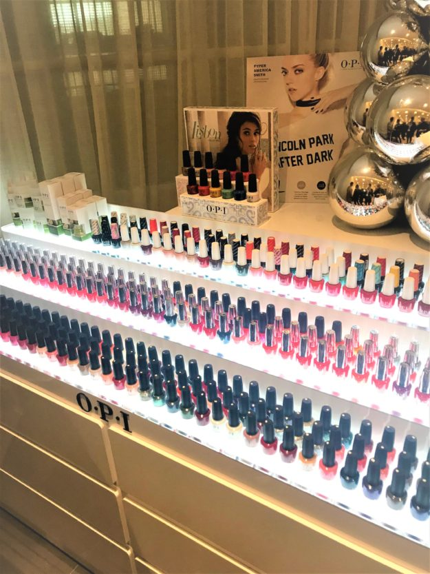 Bar à ongles OPI Institut Carlota Paris