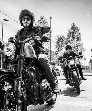 Bikers Harley Davidson Moto