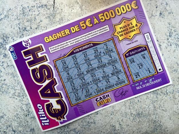 Cash gagnant 100 euros