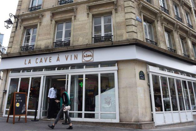 Cave à vins Paris Le Marais rue des Archives