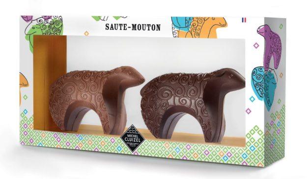 Chocolats Pâques Saute Mouton Michel CLUIZEL