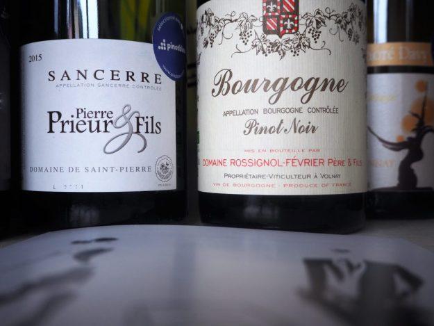 Box coffret vins dégustation découverte Pinot Bleu