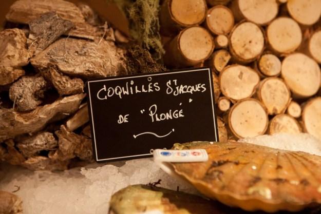 Coquilles Saint Jacques de Plongé