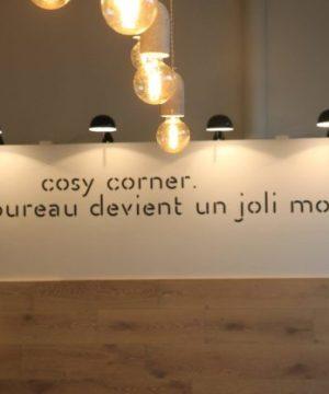 Cosy Corner Bureau devient un joli mot