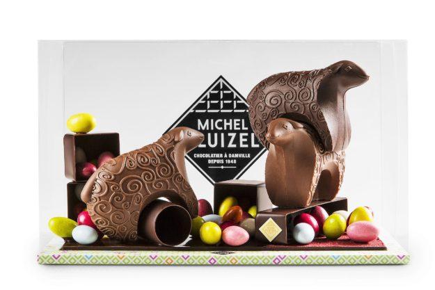 Création art chocolat Pâques