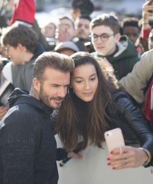 DAVID Beckham à Paris workshop ADIDAS Palais Brogniart