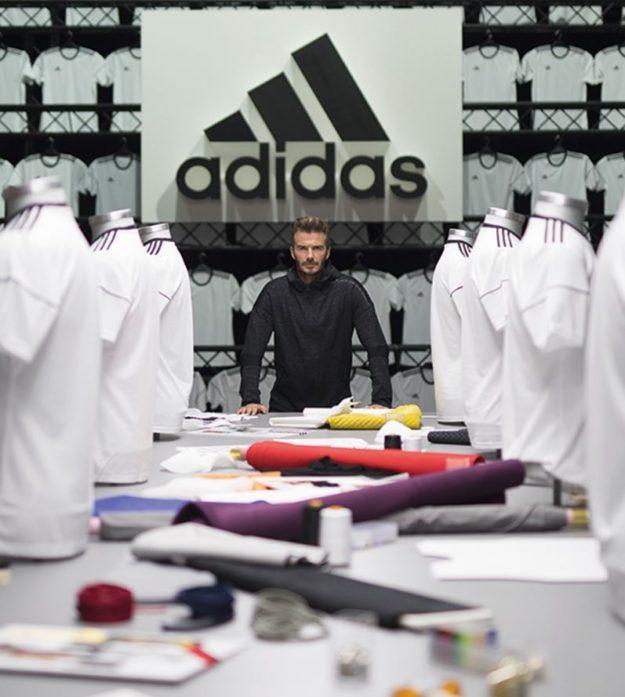 David Beckham à Paris ADIDAS workshop Palais Brogniart
