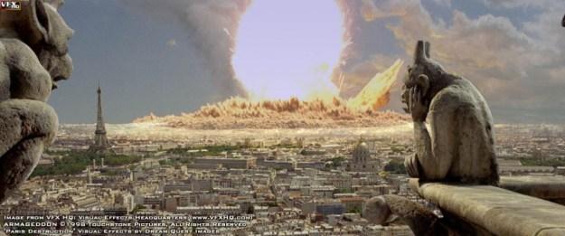 Destruction de Paris par les Extrasterrestres - Independence Day le film