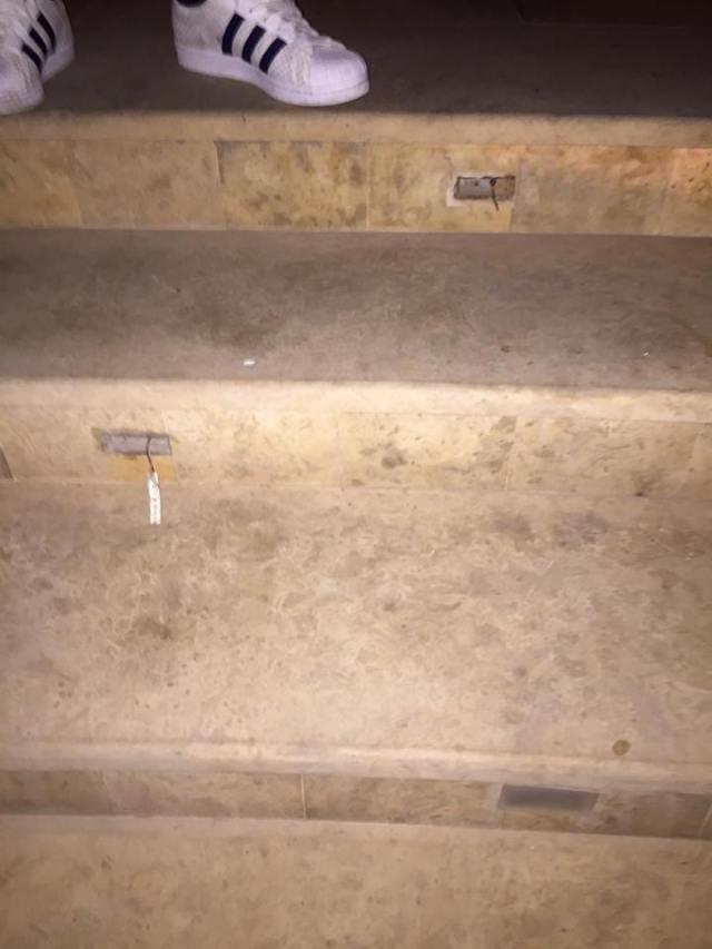 Diodes LED escaliers Héliades Crête