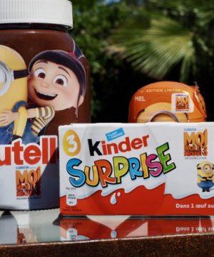 Kinder surprise personnages les Minions film Moi, Moche et Méchant 3