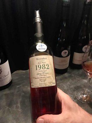 Foire aux Vins Carrefour Vin Rivesaltes 1982