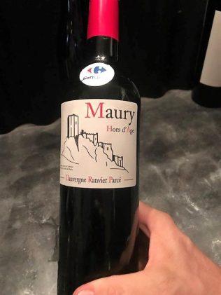Foire aux vins Carrefour Vin Maury hors d'âge