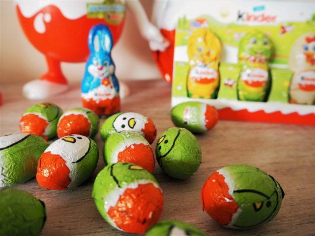 œufs Kinder chocolats Pâques