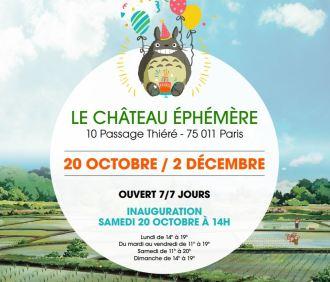 Pop-up store Le Château Ephémère