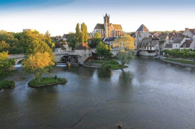 Moret sur Loing Village médiéval Seine-et-Marne - Photo office du Tourisme Moret sur Loing