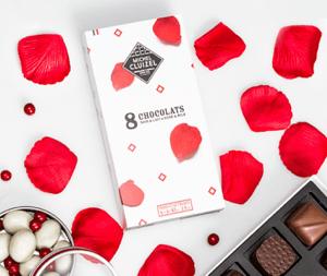 Offrir des chocolats à la Saint-Valentin Coffret