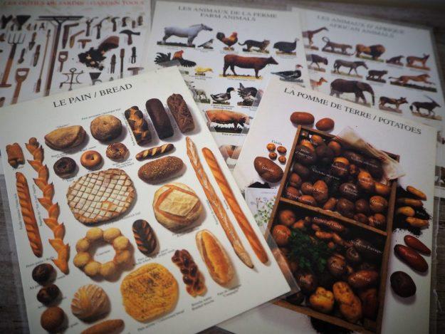 Cartes postales produits du terroir