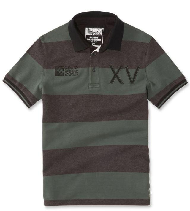 Polo coton XV de France Rugby Word Cup 2015