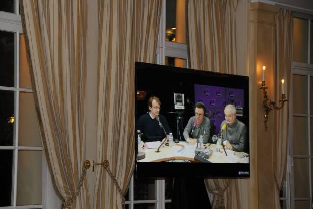 Prix Bristol des Lumières - live délibération du Jury retransmis au Bristol Paris