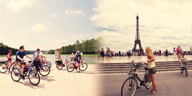 Promenade Paris à vélo Photo Parisvisitrégion