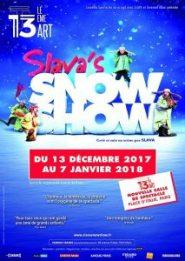 Slava's Snowshow Théâtre 13ème Art Paris 2017