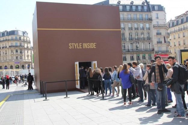 Style inside by Häagen-Dazs à la Gare Saint-Lazare