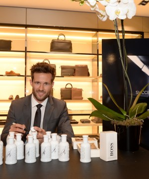 Yohan Cabaye Hugo Boss Bottle Unlimited