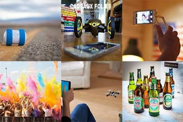 cadeaux folies, idées cadeaux et gadgets