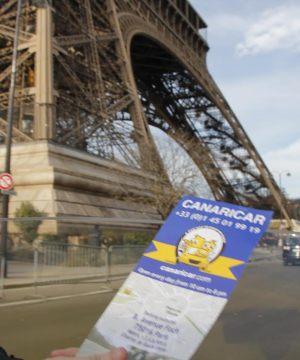 Visite paris canaricar Tour Eiffel