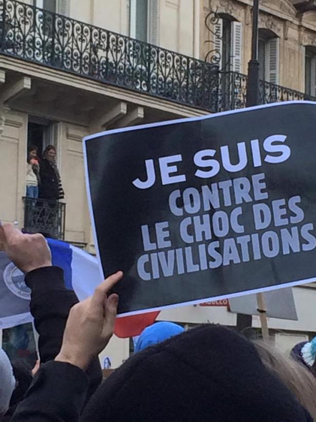Nous sommes Charlie – Paris 11 janvier 2015 – Photo Cédric Tartaud-Gineste pour romainparis.fr. Tous droits réservés.