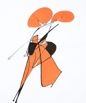 Dame au Violon @Yvan Leloine - La Galerie de l'Instant Paris