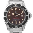 ROLEX SEA-DWELLER DOUBLE RED TROPICAL 1665 MARK II THIN CASE