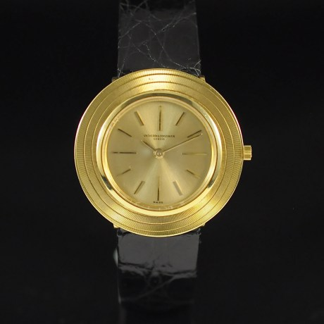 VACHERON CONSTANTIN ULTRA THIN YELLOW GOLD