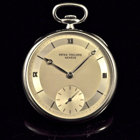PATEK PHILIPPE POCKET WATCH PLATINUM
