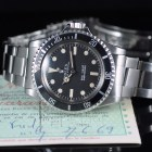 ROLEX SUBMARINER METER FIRST REF. 5513 BOX & PAPERS