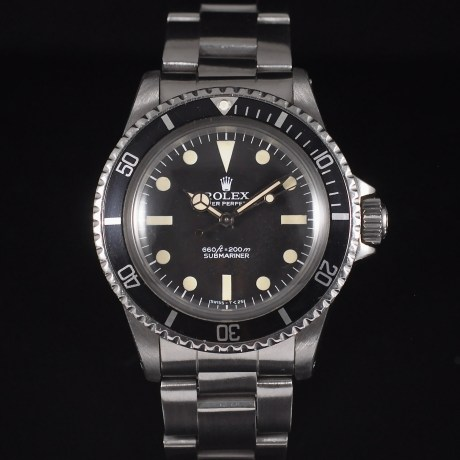 ROLEX SUBMARINER PRE-COMEX REF. 5513 BOX & PAPERS