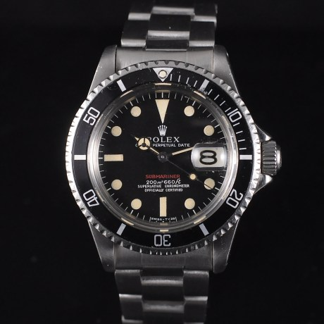 ROLEX SUBMARINER 1680 RED MK1