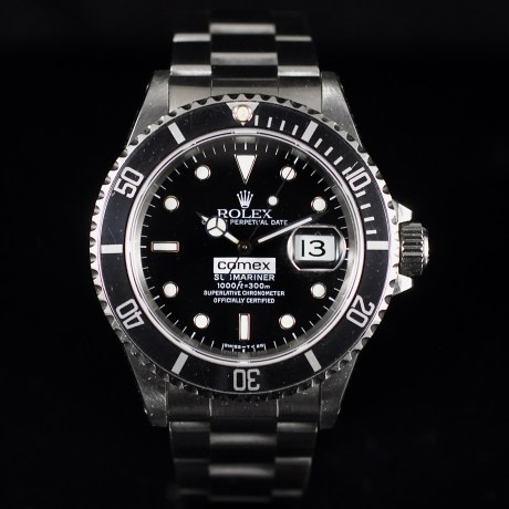 ROLEX SUBMARINER COMEX REF. 16610 FULL SET
