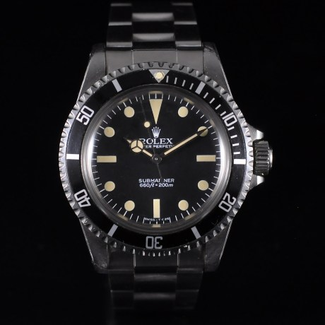 ROLEX SUBMARINER 5513 UNPOLISHED FULL SET