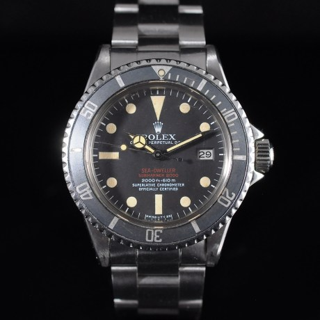 ROLEX SEA-DWELLER 1665 DOUBLE RED BOX & PAPERS