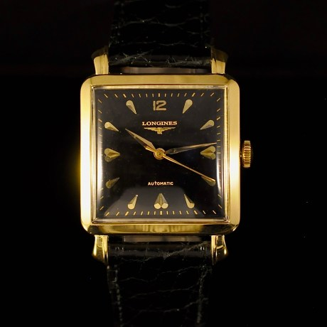 LONGINES CIOCCOLATONE YELLOW GOLD