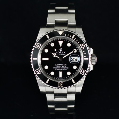 ROLEX SUBMARINER DATE REF. 116610LN BOX AND CARD