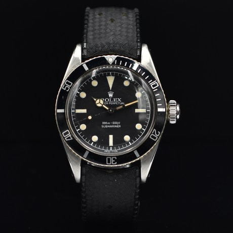 ROLEX SUBMARINER JAMES BOND BIG CROWN REF. 6538 SERVICE DIAL
