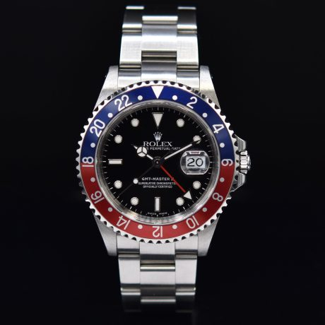 ROLEX GMT II REF. 16710 P SERIES WITH PAPER
