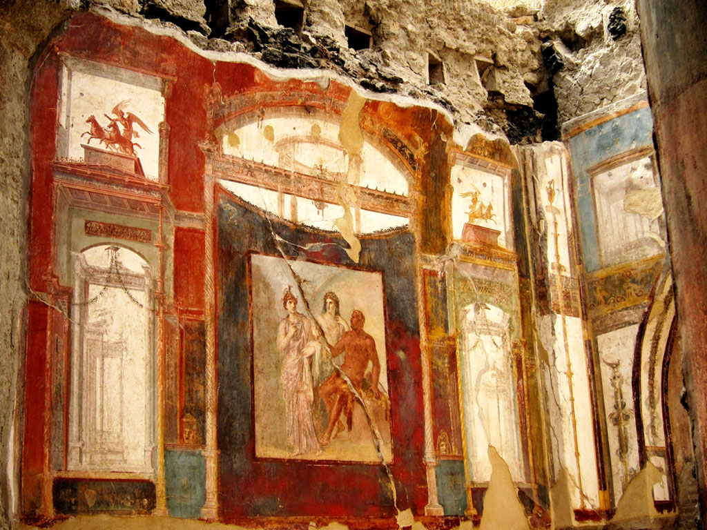 Paintings at ERCOLANO