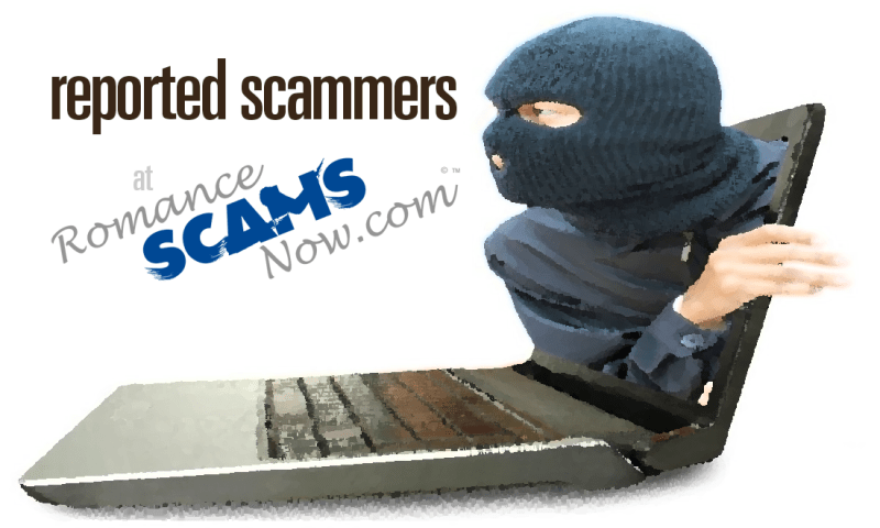 Reported Romance Scammers & Fraudsters