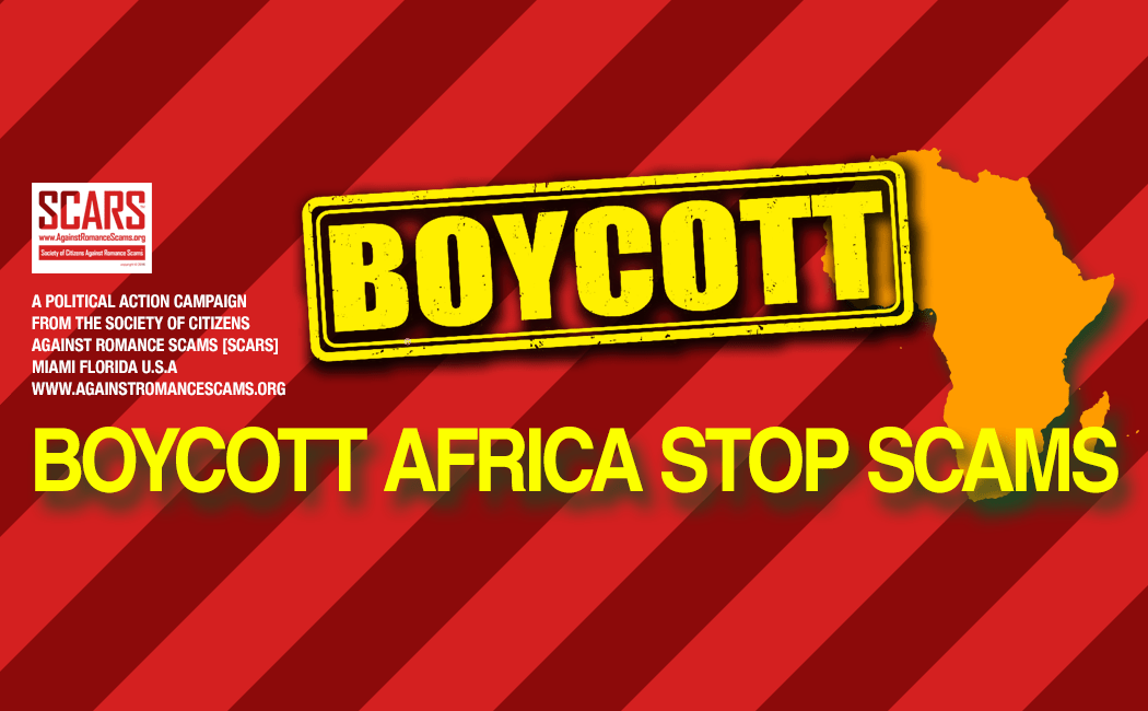 Boycott All African Products & Produce Until Scams Stop