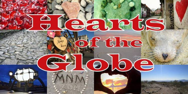 Hearts around the Globe