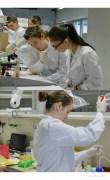 in laborator